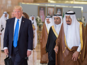 Trump Visits Saudi Kingdom