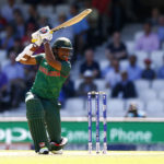 Bangladesh's Soumya Sarkar in action