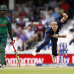 England's Ben Stokes in action