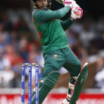 Bangladesh's Mushfiqur Rahim in action