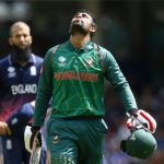 Bangladesh's Tamim Iqbal celebrates his century