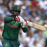 Bangladesh's Tamim Iqbal in action