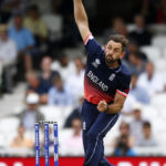 England's Liam Plunkett in action