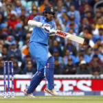 India's Shikhar Dhawan in action