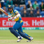 Sri Lanka's Kusal Mendis in action
