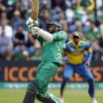 Pakistan's Azhar Ali in action