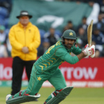 Pakistan's Sarfraz Ahmed in action